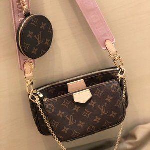 LV Multi Pochette Accessoires crossbody bag